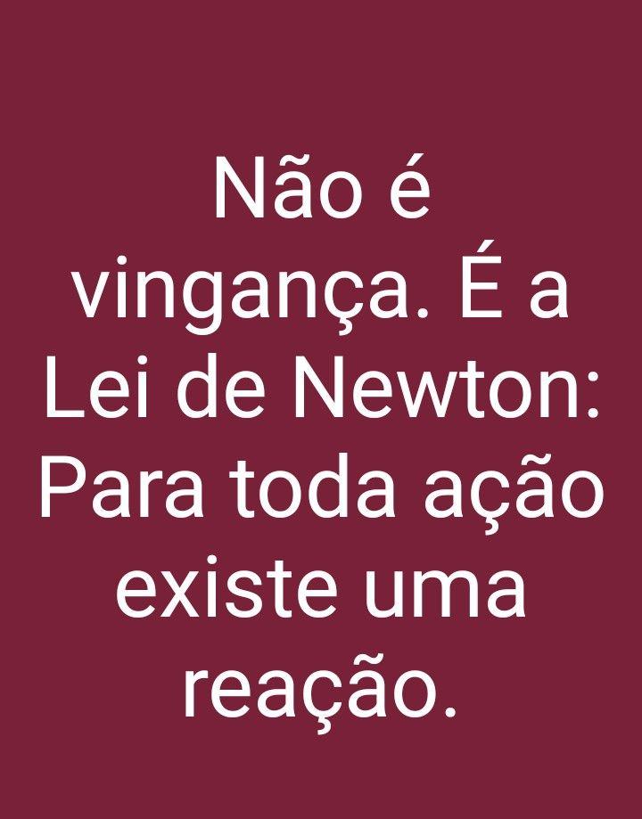 é A Terceira Lei De Newton Frases Indiretas Frases