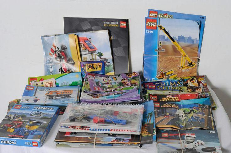 LEGO Assorted Instruction Books Set Catalogs Sports Phonics Inventions Lot #LEGO
