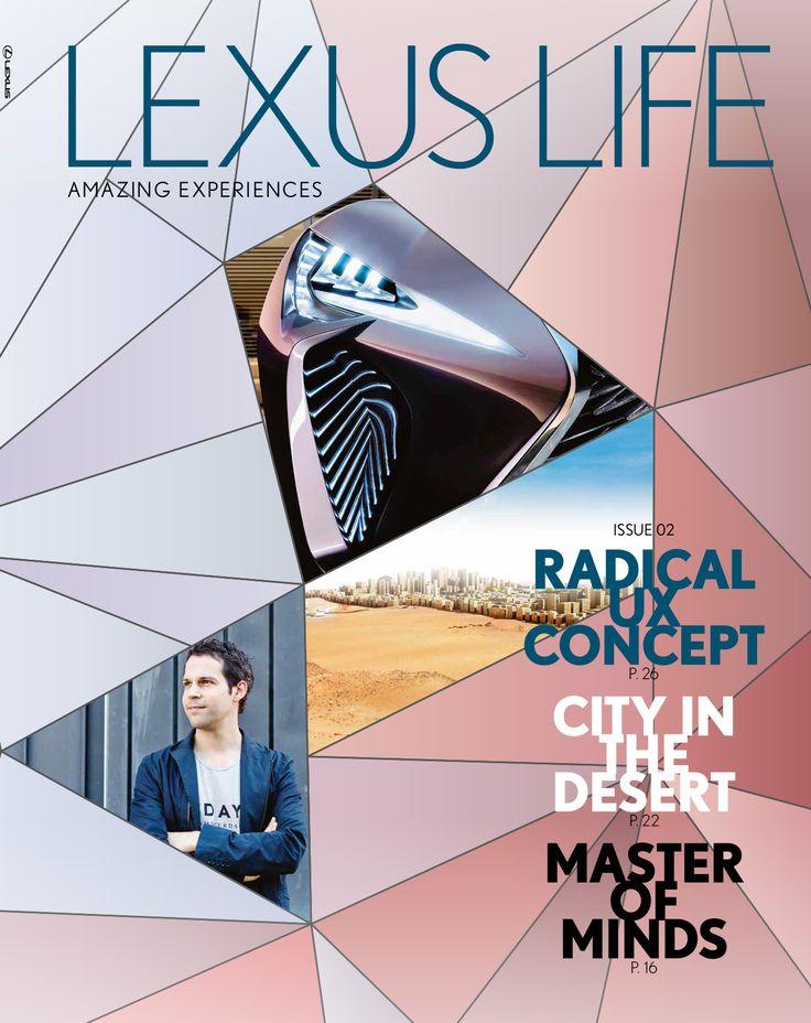 Lexus Life Magazine / Louman en Parqui / Artdirection issu 2  2016