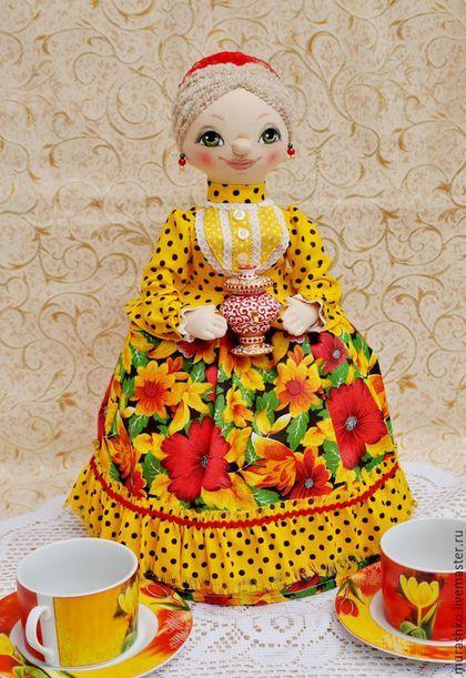 Человечки ручной работы. Заказать кукла на чайник Казачка. Мурашко Людмила Ивановна. Ярмарка Мастеров. Кукла ручной работы, холофайбер