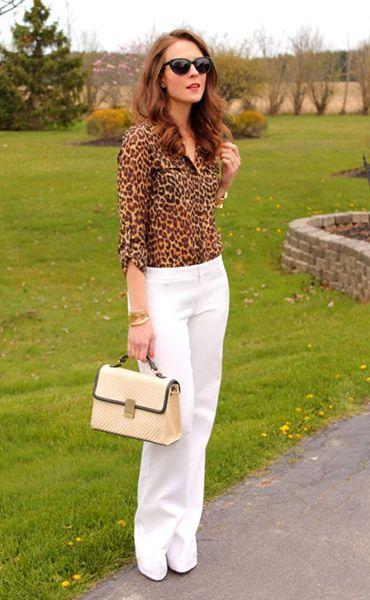 Леопардовая блузка – торжество женственности или устаревший бренд?