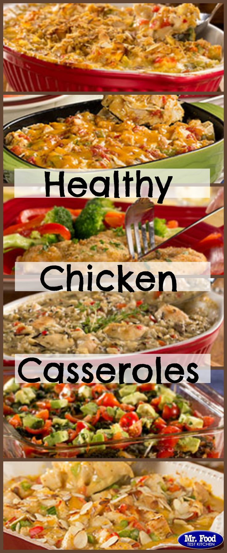 Healthy Chicken Casseroles - Feel good about dinner when you serve up these healthy chicken recipes!