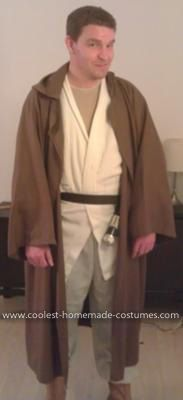 Homemade Obi Wan Kenobi Costume: This costume I have used on a number of different parties and always gets a waggle or two.