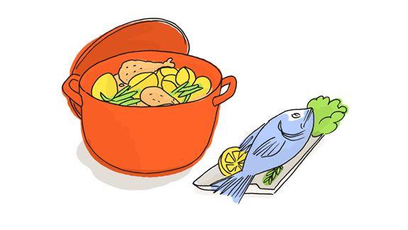 Spaghetti aux tomates fraîches et basilic | Manger Bouger