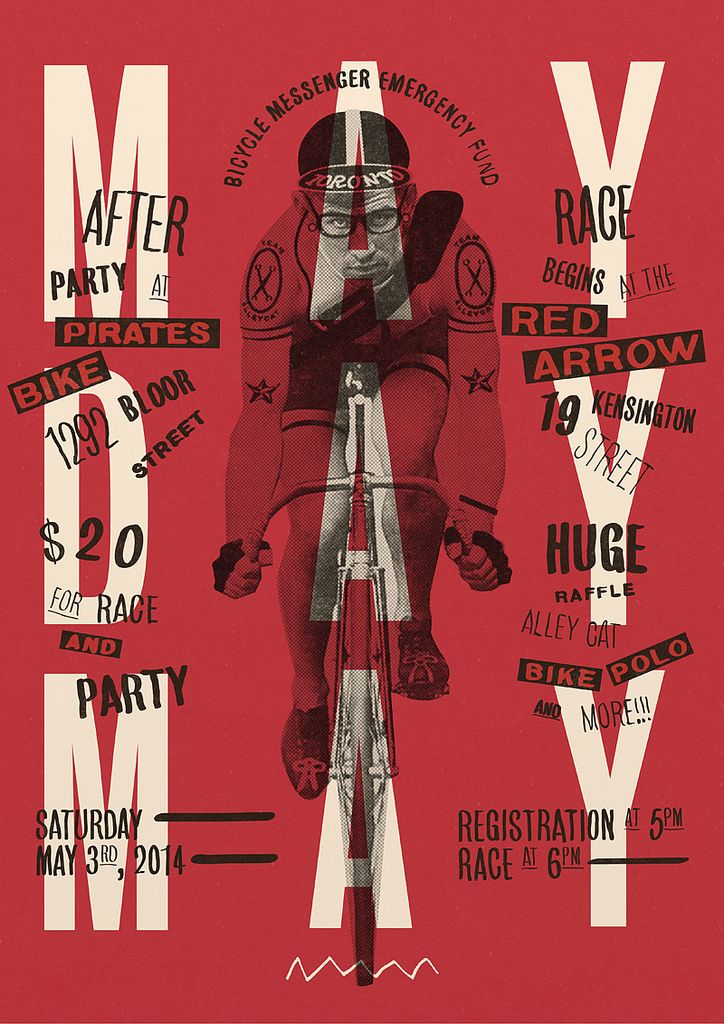 MAYDAY 2014 poster