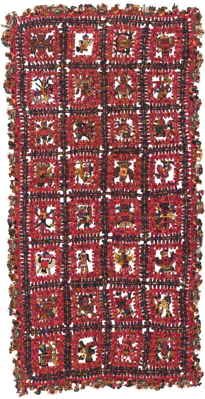 La azarosa historia del saqueo, venta, exilio y retorno de algunos de los tejidos paracas más valiosos, que acaban de regresar al Perú