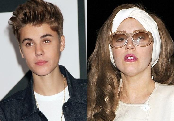 Justin Bieber berjaya memintas Lady Gaga sebagai ikon pop paling ramai pengikutnya di laman sosial Twitter.