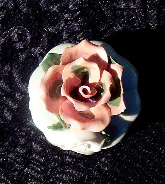 Spiced Floral Solid Perfume FLOWERS ON FIRE by LaDonnaVerde, $10.00