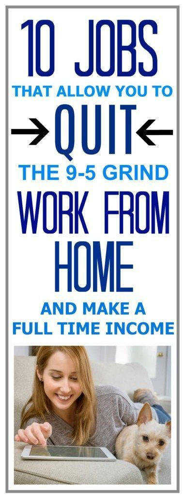 work from home full time income