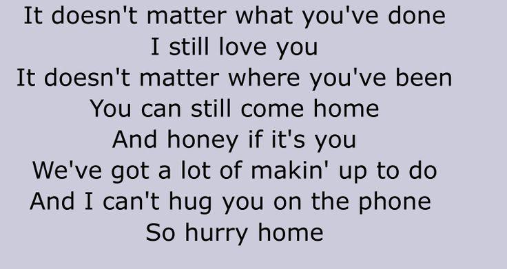 Joe Nichols - Hurry Home