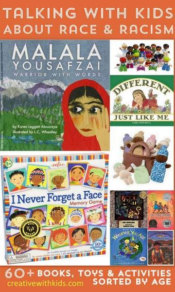 Huge resource list to help you talk with kids about race and racism