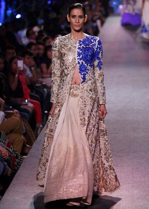 Manish Malhotra Dresses, Sarees, Anarkali Salwar Suits and Lehenga Online Collection - Kalkifashion - Kalkifashion.com