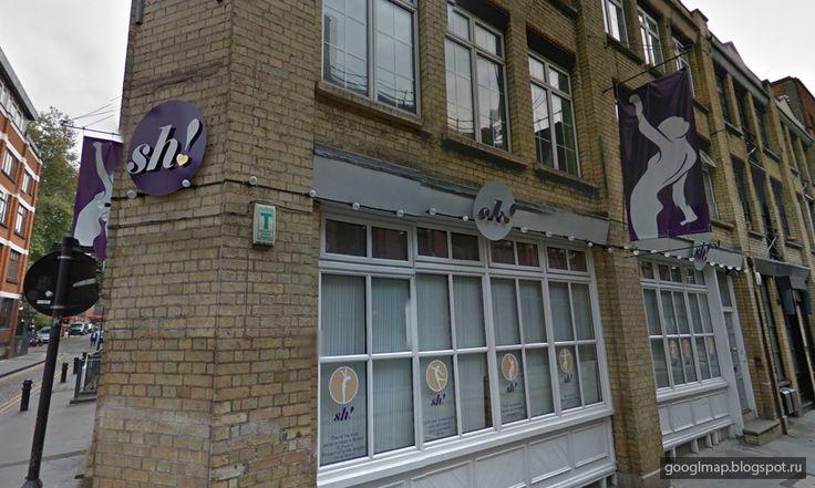 """Интересные места на картах Google: Лондон: магазин интим-товаров """"sh!"""" #streetview"""