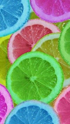 Lemon Slices iPhone 5S Wallpaper
