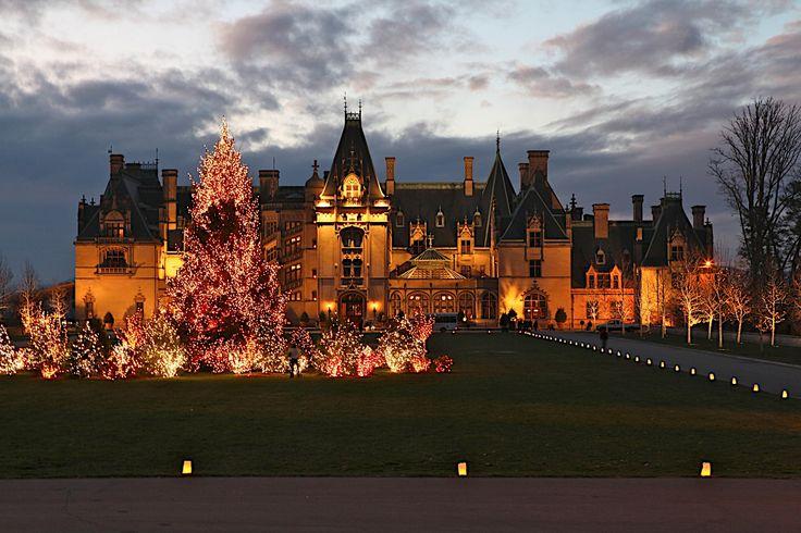 The Biltmore Estate at Christmas  Asheville, North Carolina