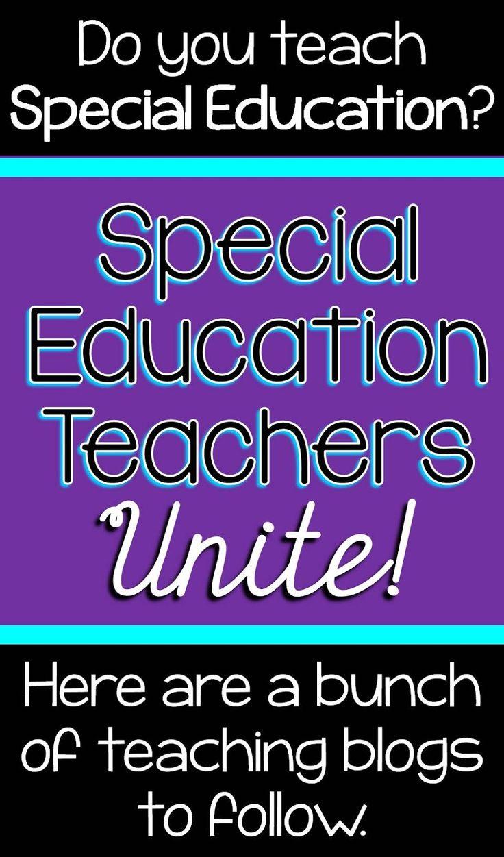 Special Education Teacher blogs