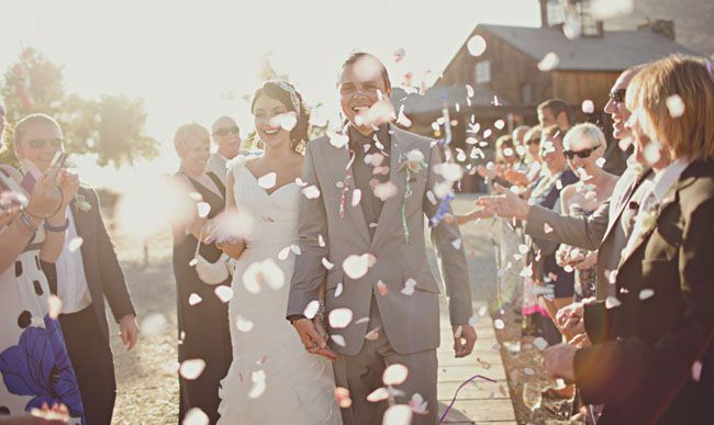 sparklers are my favorite for the exit, but confetti is a cute idea too!