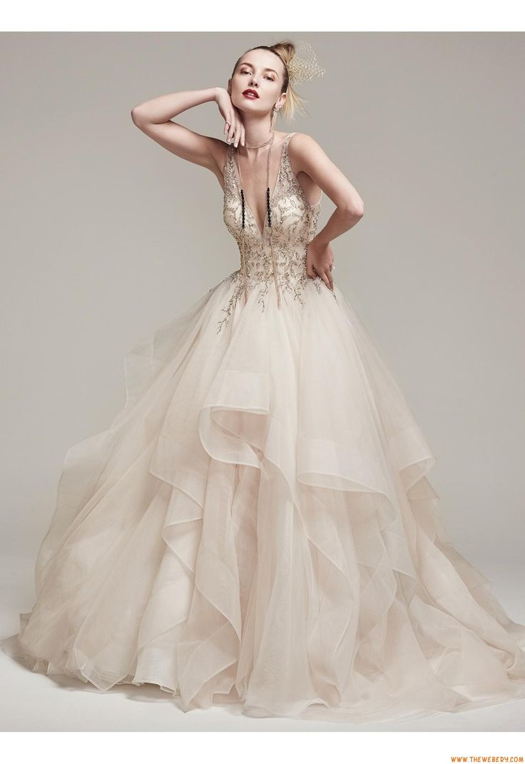 vestiti da cerimonia nuziale palla da sposa organza