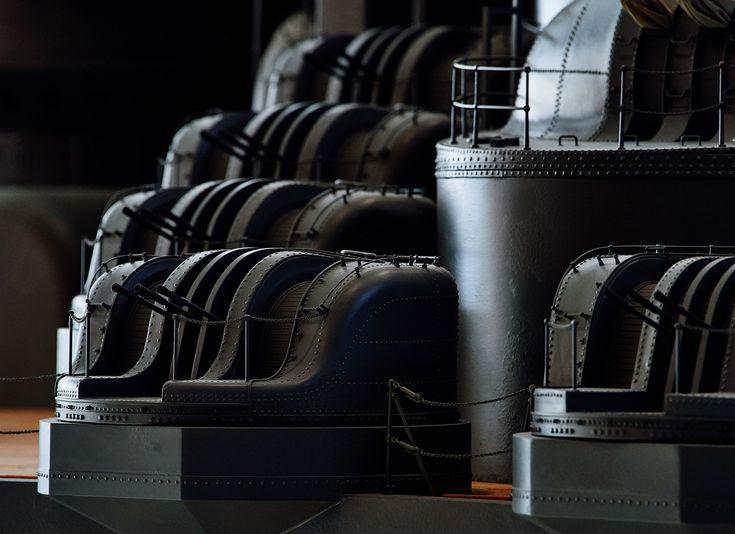 1/10 IJN Battleship Yamato   Yamato Museum   Kure city, Hiroshima prefecture, Japan. 「大和ミュージアム(呉市海事歴史科学館)」 広島県呉市宝町