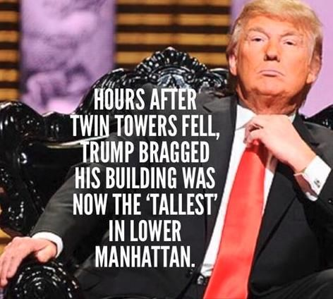 Donald Trump spoke of having the tallest building in downtown Manhattan after…