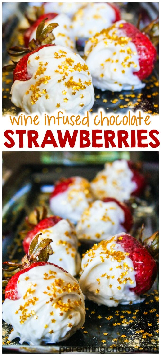 Msg 4 21+ These wine infused chocolate strawberries are delicious! #VinoBlockParty #ad