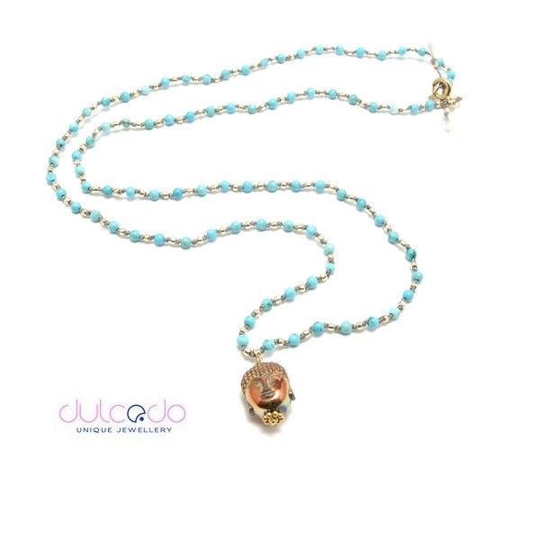 Buddha in blue - DULCEDO biżuteria - jewellery is like clothes, I feel naked without it