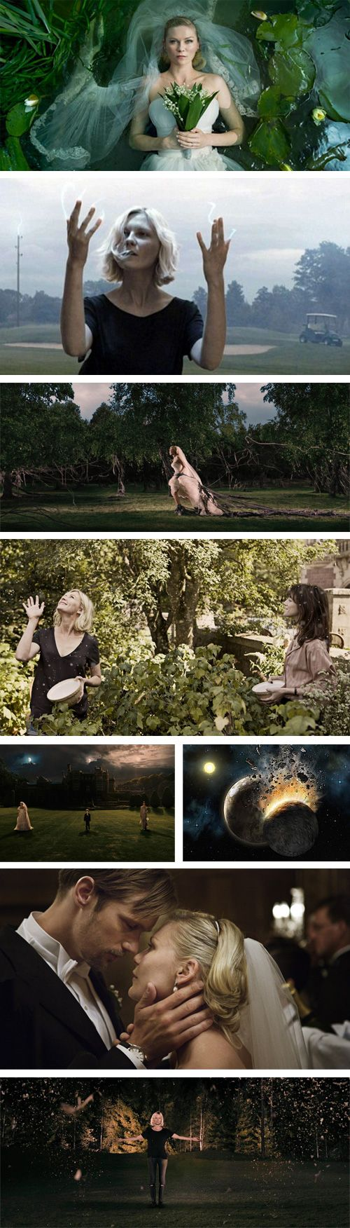 """Lars Von Trier """"Melancholia"""" - Kirsten Dunst, Charlotte Gainsbourg and Kiefer Sutherland"""