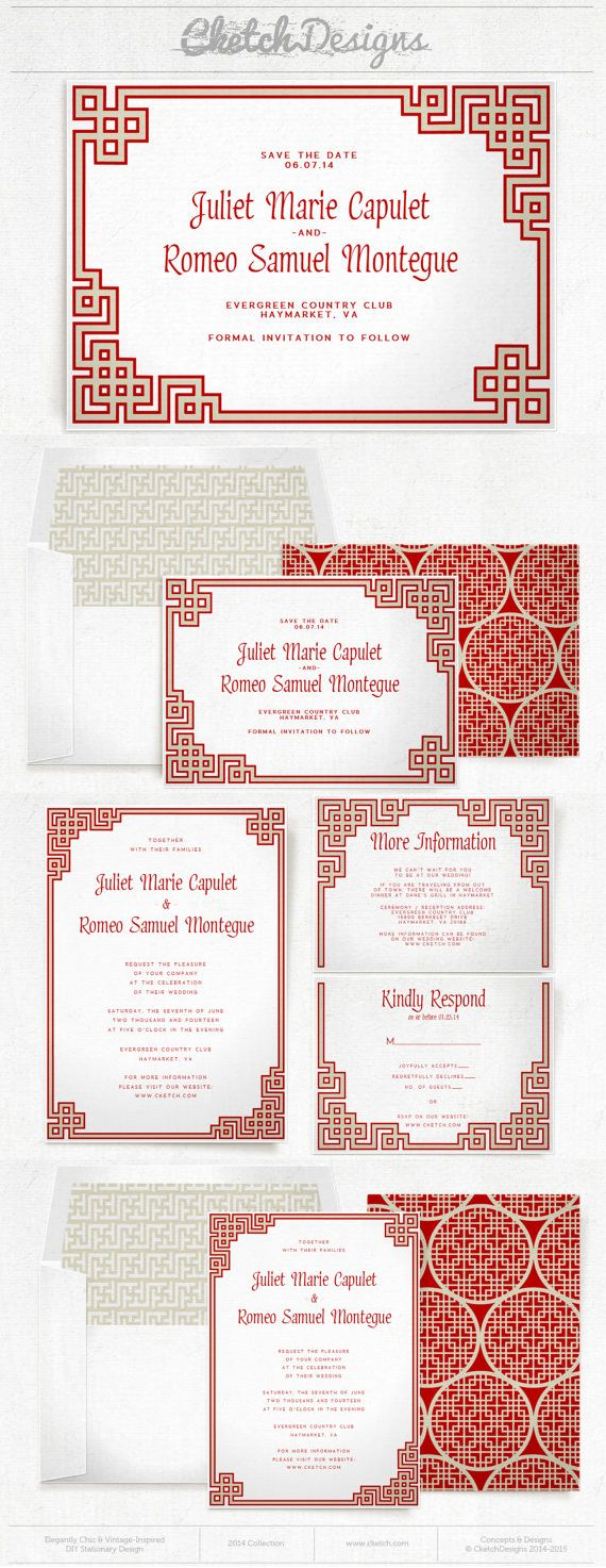 75 best Chinese Wedding images on Pinterest | Bridal invitations ...