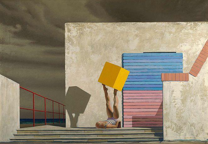 Jeffrey Smart's art - in pictures
