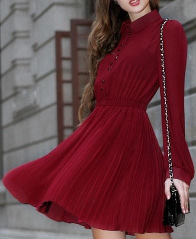 Retro Shirt Dress