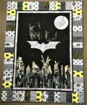 Baby Batman Quilt
