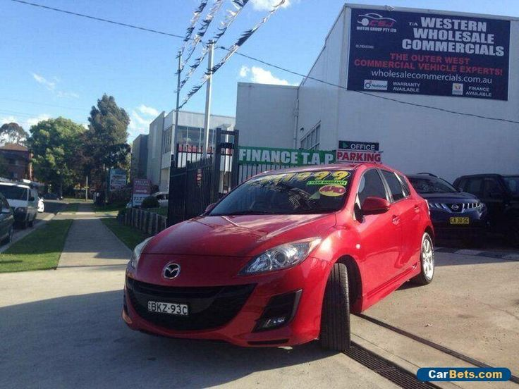 2009 Mazda 3 BK MY08 Maxx Sport Red Automatic 4sp A