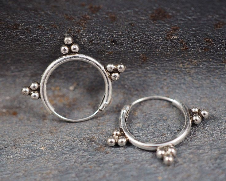 A personal favorite from my Etsy shop https://www.etsy.com/listing/517615164/12mm-bali-hoop-earrings925-sterling