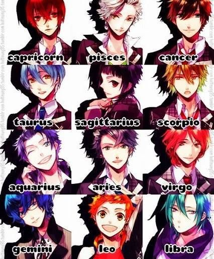 anime horoscopes!<~~ I'm a Pisces and I love the Pisces on as well as the Aquarius and Aries one. Maybe even Scorpio