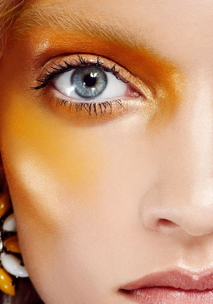 "Jaw-Dropping Makeup Looks Guaranteed To Inspire #refinery29  http://www.refinery29.com/beauty-rules-for-eye-makeup#slide-2  ""We're trying to break the beauty rules,"" says Anthony. So when it comes to choosing a color, there are no restrictions — go with whatever looks best on your skin tone. (If it helps, think of the clothing shades you gravitate toward first.) Prefer to stick to the more usual makeup shades? If you're wearing bright-pink blush, try a light contour with purple. There's a…"