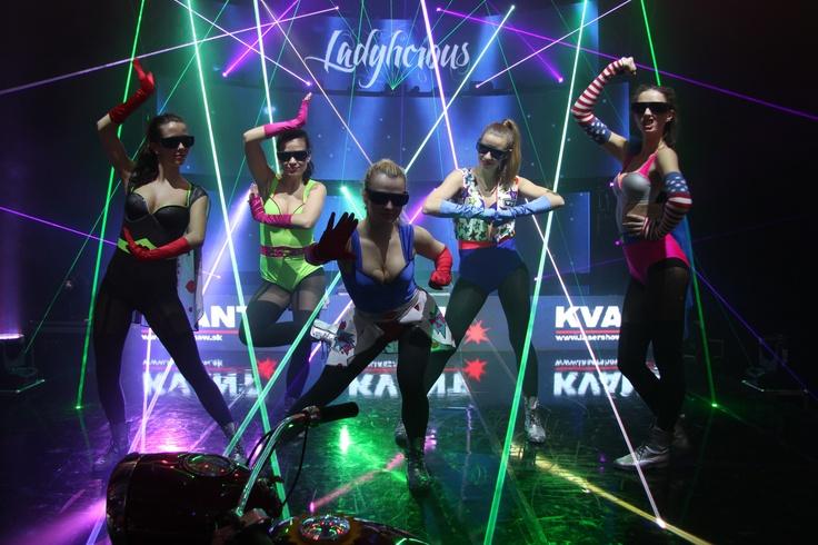 ProLight & Sound Frankfurt 2013 with Ladylicious    www.lasershow.sk