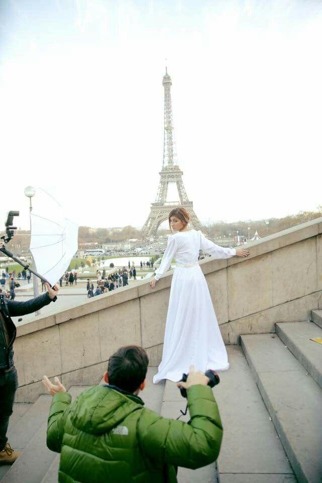 Ayse Ceren Paris Shooting '17 Backstage