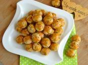 Pastane Usulü Çörekotlu Tuzlu Kurabiye Tarifi Hazırlanış Resmi 11 - Kolay ve Resimli Nefis Yemek Tarifleri