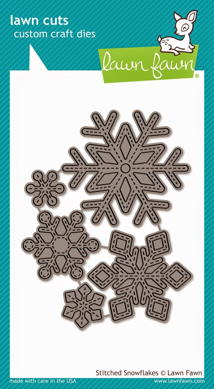 Lawn Fawn Stitched Snowflake Dies
