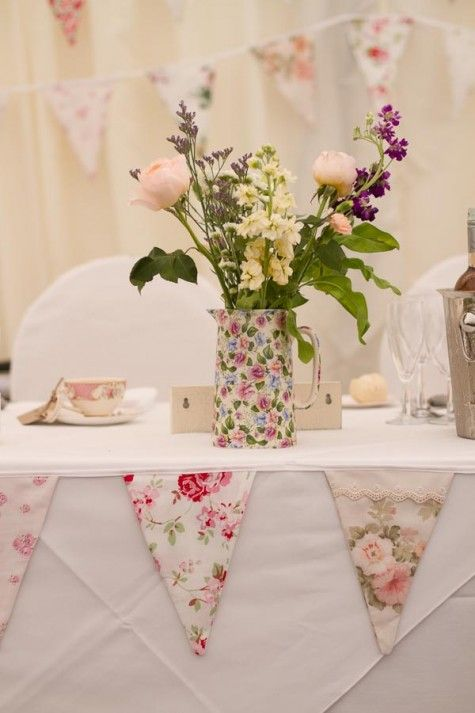 Pretty Pastel Country Vintage Wedding By Toast of Leeds