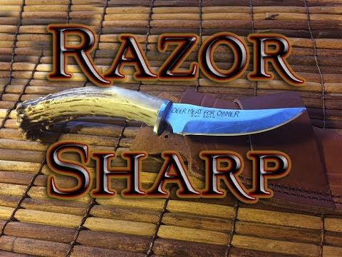 the best knife sharpener in the world!!! YOU ALREADY HAVE IT!!!! - YouTube