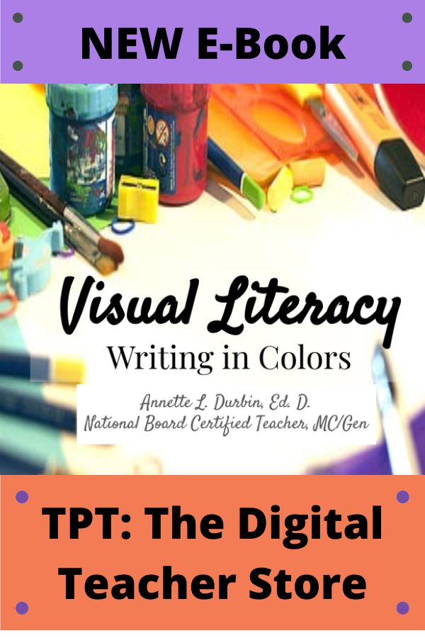 Visual Literacy Writing In Colors With Picture Composition In