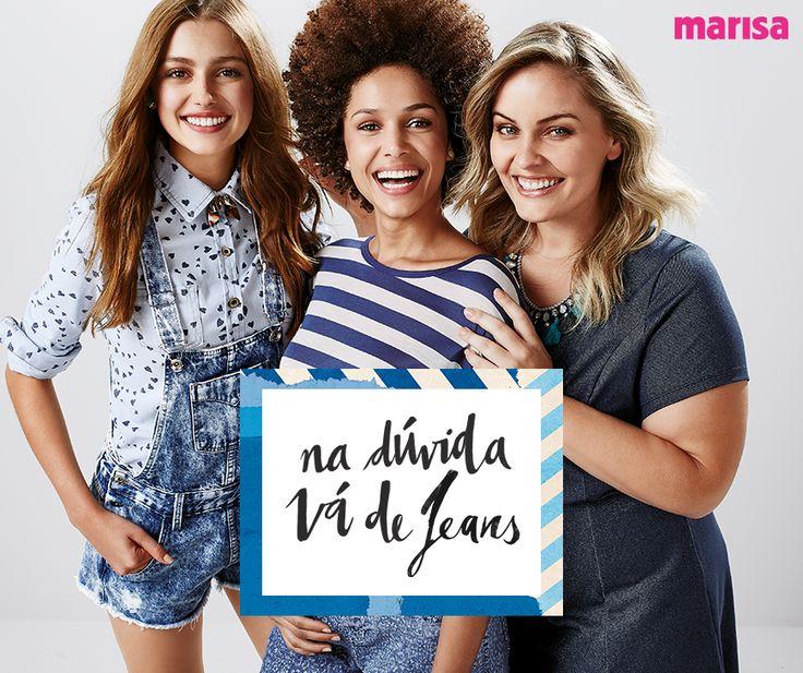 Jeans Marisa com muitas novidades - Notícias - Farol Shopping - Tubarão, Santa Catarina, Brasil