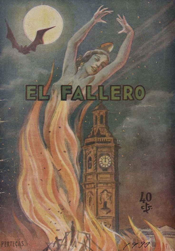 Cubierta de la revista El fallero,  nº 13, año 1933