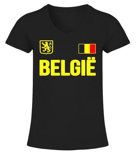 Belgium T-shirt Belgian Soccer Football Fan Jersey 2018 Soccer Problems 445b84839