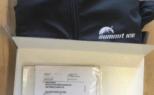 Nathan Fielder Is Sending Sean Spicer His Very Personal Summit Ice Jacket  Splitsider