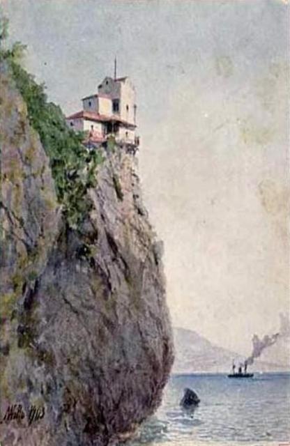 Lev Lagorio - Crimea, Swallow's Nest (1903)