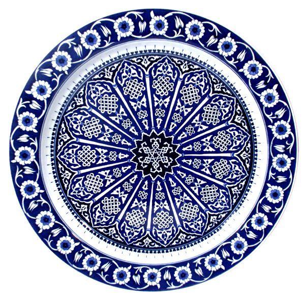 Ceramic - Çini Plate - Seljuki Inspiration, Mehmet Gürsoy