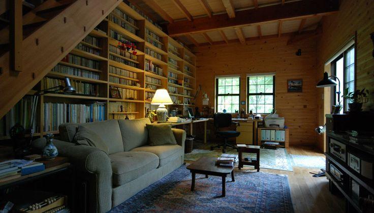 大きな書斎