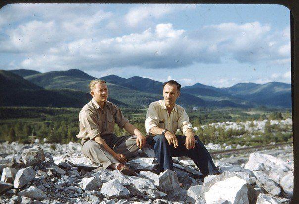 N.J. Zubko in Nahanni Valley, ca. 1950's